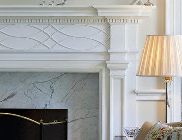 Villanova Residence - fireplace