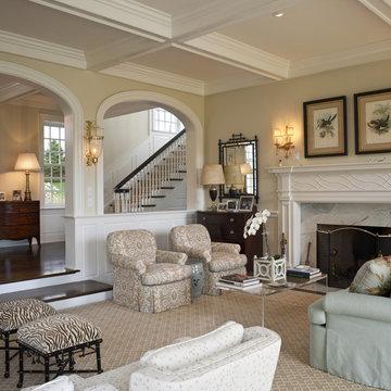 Villanova Residence - living room