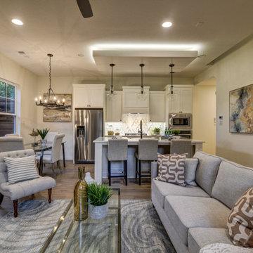Cozy Open Floor Plan