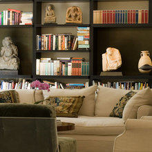 How To Fill A Bookshelf With Class