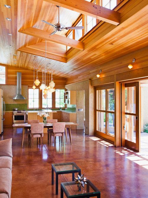 Acid Washed Concrete Home Design Ideas Pictures Remodel