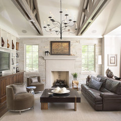 contemporary living room by Culligan Abraham Architecture