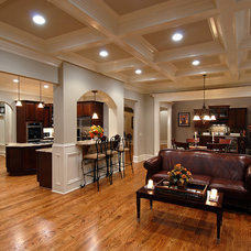 Traditional Living Room by Vincent Longo Custom Builders
