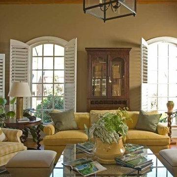 Vinings Residence- Living Room Alternate Angle Two