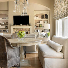 Contemporary Living Room by The Design Atelier, Inc.