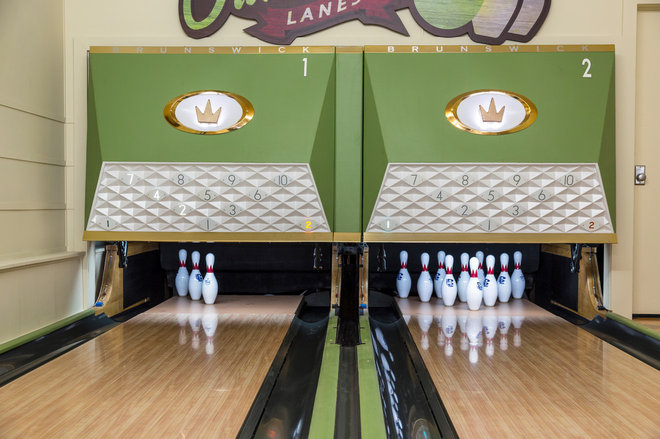 Dream Spaces Midcentury Bowling Lanes Roll On In Minnesota