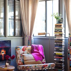 Eclectic Living Room Vintage chair