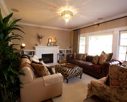 Two Different Couches Home Design Ideas, Pictures, Remodel and Decor