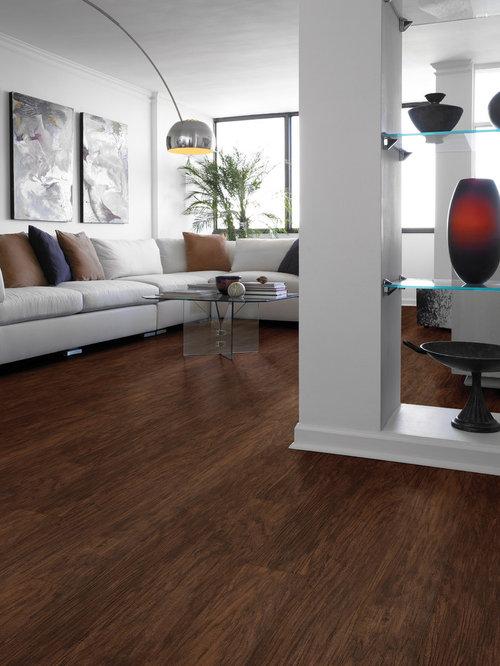 Photos et id es d co de pi ces vivre ouvertes avec un for Vinyl flooring enfield