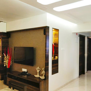 Living room - modern living room idea in Mumbai
