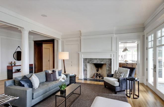 Contemporary Living Room by GRADE