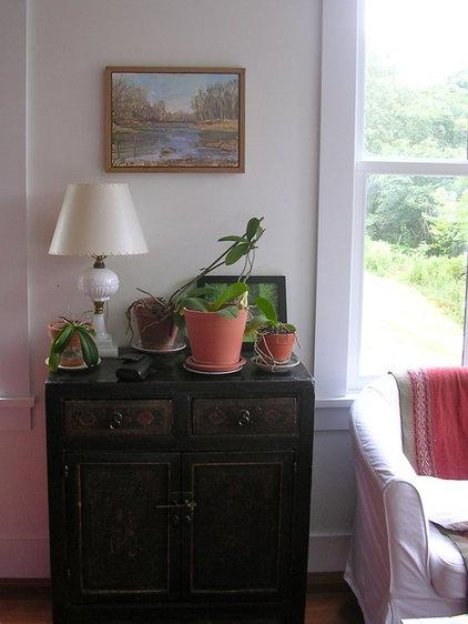 Farmhouse Living Room Virginia Countryside Cottage