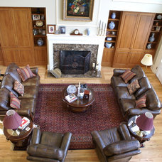 Traditional Living Room by MDC Cabinetry & More
