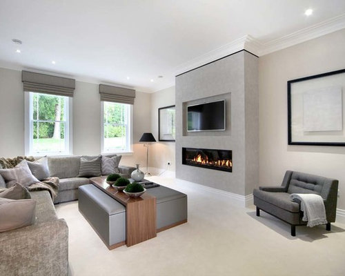 Fireplace Design Ideas double sided fireplace modern fireplace design ideas Contemporary Fireplace Home Design Photos