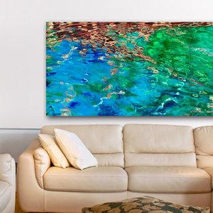 Virtual Art Placement Sample - Living Room
