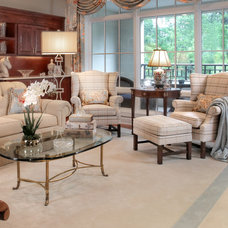Traditional Living Room by Interiors at 40 Main