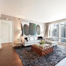 Contemporary Living Room by Lo Chen Design