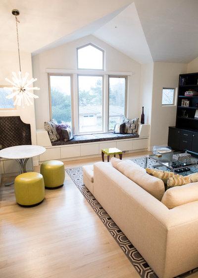 Contemporary Living Room by Elena Calabrese Design & Decor