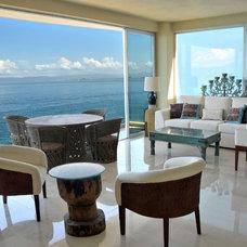 Contemporary Living Room by JEM4 design