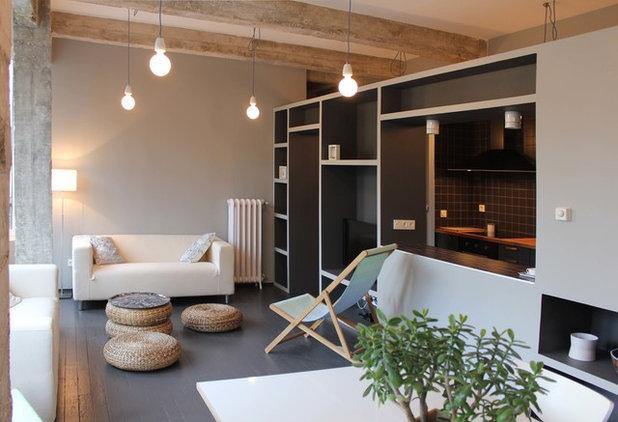 Industriale Soggiorno by PAUZARQ arquitectos