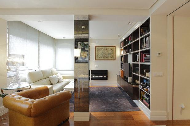 7 ideas para integrar con xito un pilar en la decoraci n. Black Bedroom Furniture Sets. Home Design Ideas