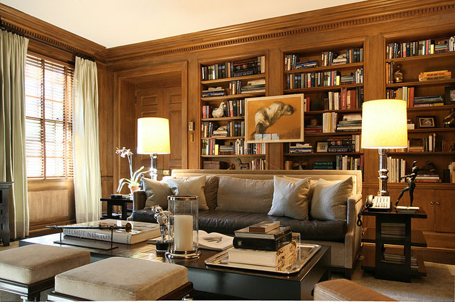 Traditional Living Room by Thom Filicia Inc.