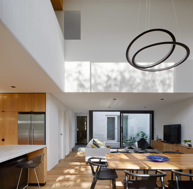 Contemporary Living Room by Andrew Child Architecture