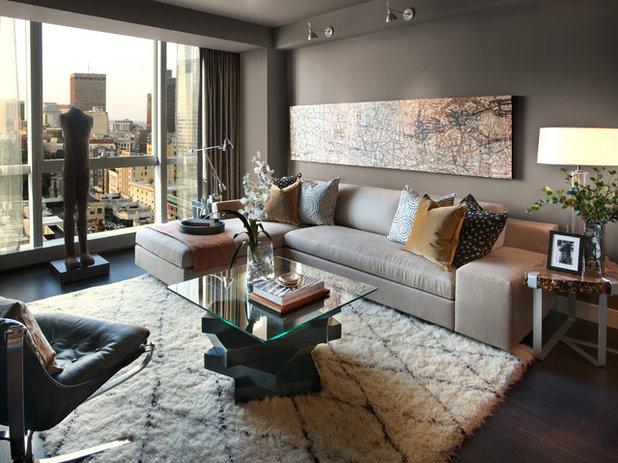 Contemporain Salon by L.Pumpa Designs