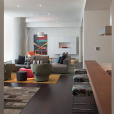 Modern Living Room by Urbanspace Interiors
