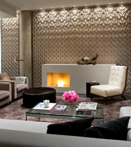 Contemporary Living Room by R Brant Design