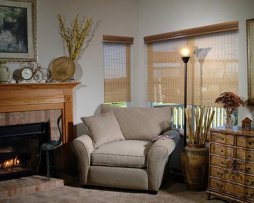 Houzz Living Room Blinds Valance For