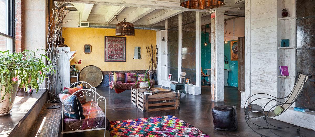 Wabi-sabi - living room