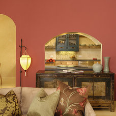 Eclectic Living Room by Susan M. Davis
