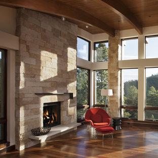 Pine Brook Boulder Mountain Residence Living Room