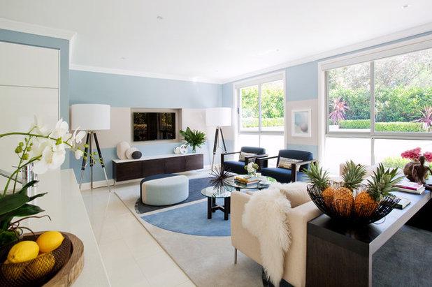 Contemporary Living Room by Adam Scougall Design