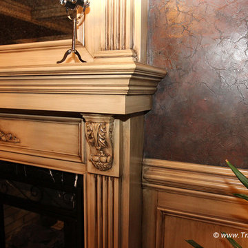 Wainscot and Picture Frames
