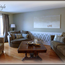 Living Room by soulstyle Interior Decorating & Home Staging