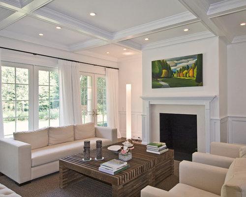 10 foot ceilings living room design ideas remodels for Living room with 10 foot ceiling