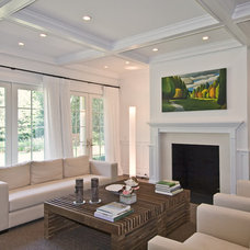 Traditional Living Room by EB Designs