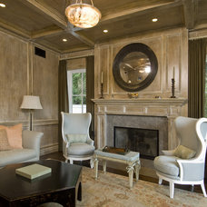 traditional living room by Charles A. Samson, Architect