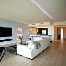 Modern Living Room by Custom Closets & More...