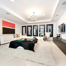 Contemporary Living Room by Interior Marketing Group