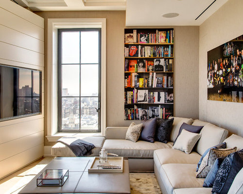 Fluffy sofa houzz - Living room design for small spaces image ...