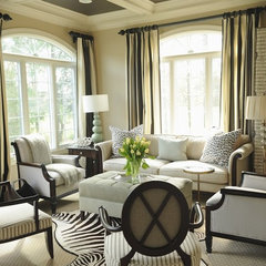 traditional living room by Erika Bonnell, Inc. Interior Design
