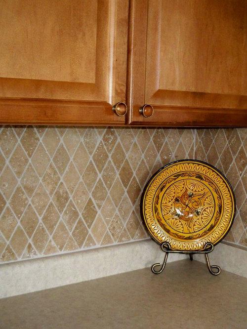 Diamond Shaped Backsplash Tile Home Design Ideas Pictures