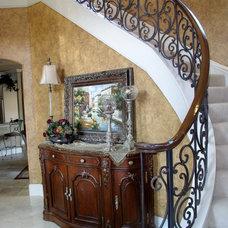 Mediterranean Living Room by Glen Houston's Painting