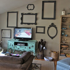 Eclectic Living Room by Bella Tucker Decorative Finishes