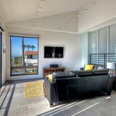 Contemporary Living Room by The Sliding Door Company Canada