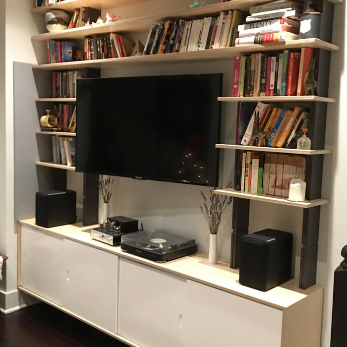 SARA Wall System - TV, Media Center