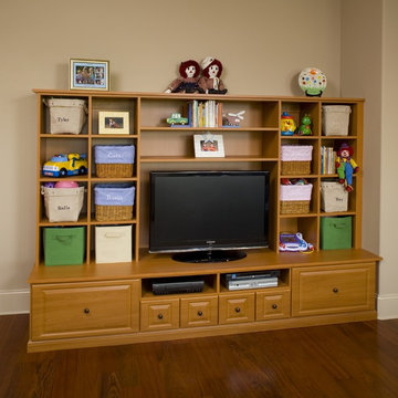 Wall Unit with Cubbies